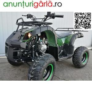 Imagine anunţ ATV BEMI 125cc 2WD HUMMER3 M7'' automatic cu revers D-N-R 2018