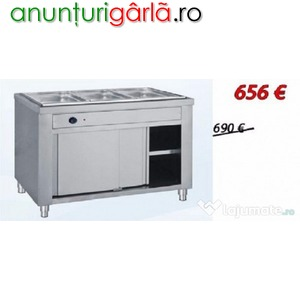 Imagine anunţ Bain marie pe suport 3GN1/1 nou