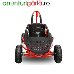 Imagine anunţ Buggy BEMI mini 80cc OHV 4T ROSU automatic