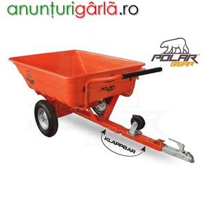 Imagine anunţ Remorca usoara dupa ATV utilaj agricol