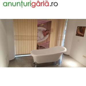 Imagine anunţ cada baie pe picioare retro 155 cm