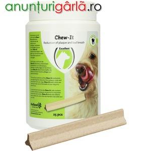 Imagine anunţ Recompensa pentru curatarea dintilor si combaterea stresului la caini
