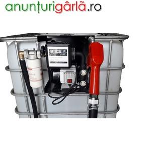 Imagine anunţ Bazin cu pompa motorina 1000 - 600 l transport tva inclus