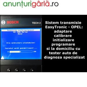 Imagine anunţ Calibrare adaptare initializare ambreiaj transmisie cutie viteze EasyTronic OPEL