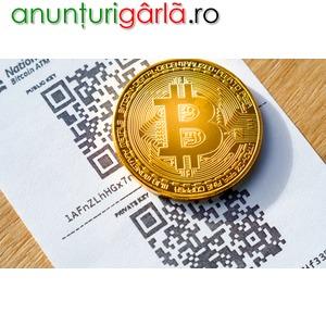 Imagine anunţ Ofer suport si informatii necesare achizitionarii de monede criptografice, nivel incepatori.