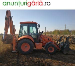 Imagine anunţ Inchiriez buldo-excavator cu cupa multifunctionala