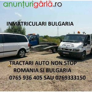 Imagine anunţ Inmatriculari Auto in Bulgaria, rapid si ieftin!