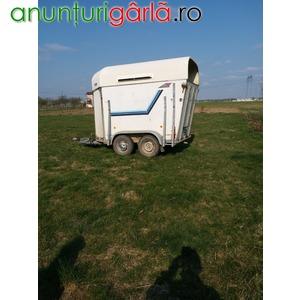 Imagine anunţ vand remorca pentru transport animale