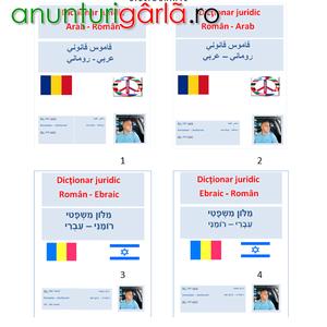 Imagine anunţ Dictionar juridic, roman ebraic si roman arab