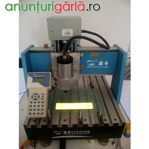 Imagine anunţ Masina de gravat CNC