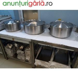 Imagine anunţ Producător de mese profesionale din inox