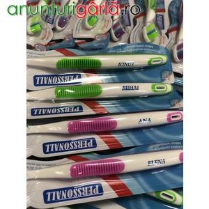 Imagine anunţ Stoc Periute de Dinti Personalizate
