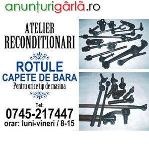 Imagine anunţ Reparatii Reconditionari Pivoti, Capete de Bara, Rotule, Bucsi
