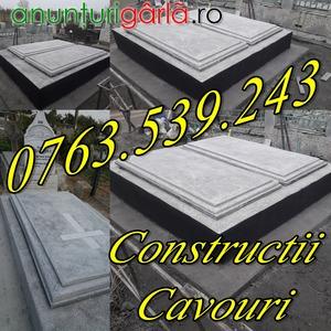 Imagine anunţ Constructii Cavouri Cripte Amenajari Morminte Mozaic Preturi Negociabile