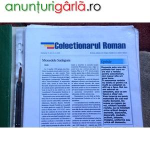 """Imagine anunţ Revista """"Colectionarul Roman"""""""
