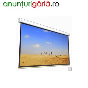 Imagine anunţ Ecran de proiecție electric SOLAR 45-25 WI,