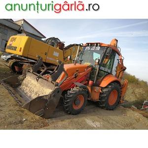 Imagine anunţ Inchiriez buldoexcavator cu deservent
