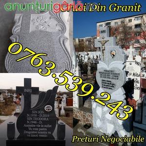 Imagine anunţ Monumente Funerare Cavouri Cruci Cadre Placare Marmura Granit