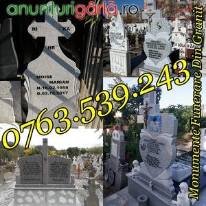 Imagine anunţ Monumente Funerare Cruci De Granit Marmura Ieftine