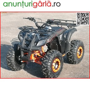 "Imagine anunţ ATV BEMI 125 NEW Hummer J8"" cutie 3+R 2020 LED Thornton 670 euro"