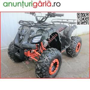 """Imagine anunţ ATV BEMI 125 NEW Hummer J8"""" cutie 3+R 2020 LED Werner 670 euro"""
