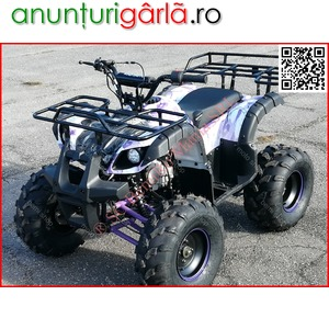 """Imagine anunţ ATV BEMI 125 NEW Spider J8"""" cutie DNR 2020 Saul 670 euro"""