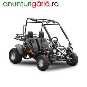 "Imagine anunţ ATV Buggy BEMI 149 NEW Hummer R10"" cutie CVT 2020 Fletcher 1429euro"