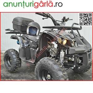 "Imagine anunţ ATV BEMI 125 NEW Hummer M7"" cutie DNR 2020 Mckee 589 euro montat"