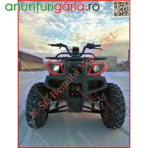 Imagine anunţ ATV BEMI Brennan HUMMER 200CVT Full Automatic R10 PRO 1429 euro
