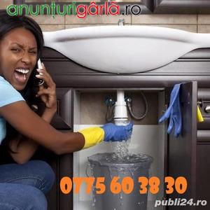 Imagine anunţ Desfundare canalizare cu sarpe electric. Factura.