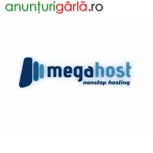 Imagine anunţ MegaHost oferă garanții pentru serviciile de hosting
