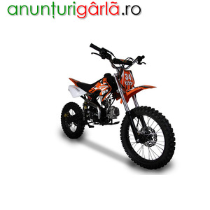 "Imagine anunţ MOTO CROSS DB-612 A 125cc J14"" e-Starter 500 euro"