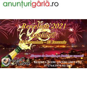 Imagine anunţ Revelion Singles 2021 – Istanbul, distractie!