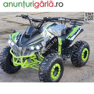 Imagine anunţ ATV BEMI 125cc Renegade 2020 Jante 8'' cutie 3+R semi-auto 739 euro
