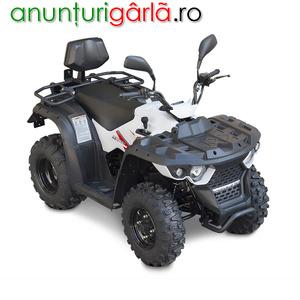 Imagine anunţ ATV Linhai M150-2x4BL model omologat T3b 1849 euro