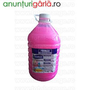 Imagine anunţ Sapun Promax igienizant roz 5 litri