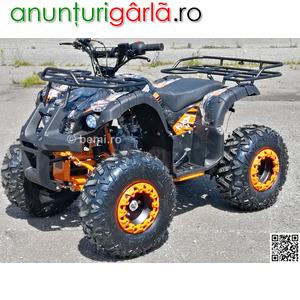 """Imagine anunţ ATV BEMI 125 NEW Hunter J8"""" cutie 3+R 2020 LED Shelton 720 euro"""