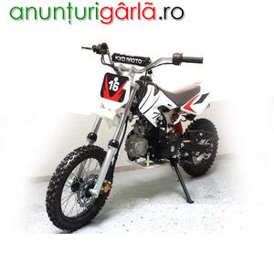 """Imagine anunţ MOTO CROSS Bemi DB-612 Automat 125cc J14/12"""" e-Starter 500 euro"""