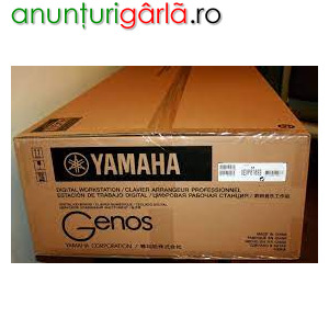 Imagine anunţ YAMAHA GENOS 76-KEYS / WHATSAPP: + 1780299-9797