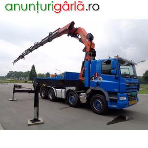 Imagine anunţ Inchiriez Camion Abroll-Kipper si containere