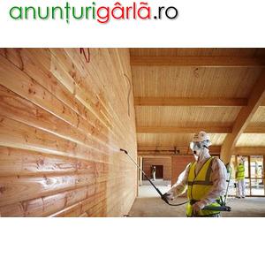 Imagine anunţ Lucrări de ignifugare a lemnului