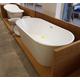Imagine anunţ cazi de baie ovale dintr-o bucata