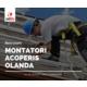 Imagine anunţ MONTATORI ACOPERIS OLANDA 2400 EURO NET + CAZARE GRATUITA